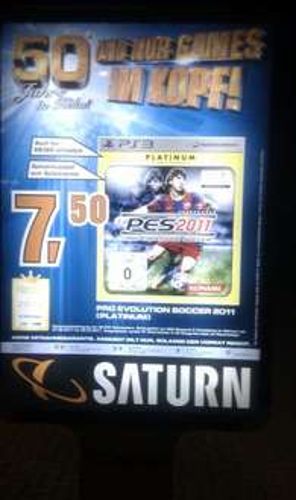 PES 2011 für 7,50 @ Saturn Märkte Köln [LOKAL]