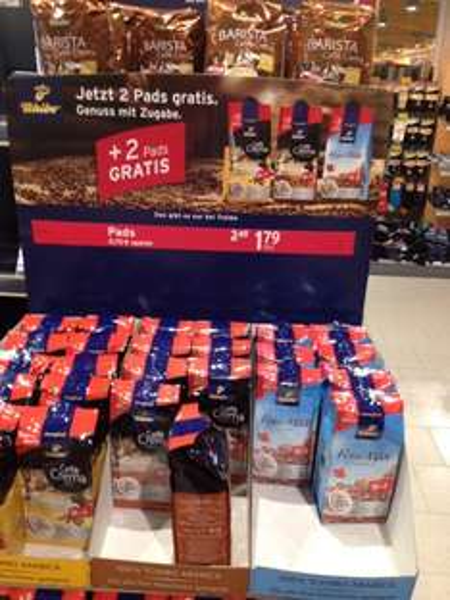 [diverse Supermärkte offline] Tchibo Pads