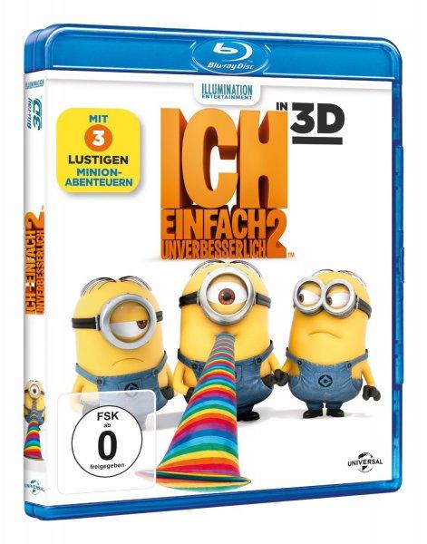 Ich - Einfach unverbesserlich 2 [ + Blu-Ray 2D] [Blu-ray 3D] mit Prime 13,97 Euro