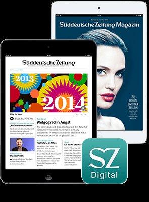 [Süddeutsche Zeitung] Digital-Abo inklusive iPad mini Retina oder Samsung Galaxy Tab S 8.4 für nur 1 € Einmalzahlung