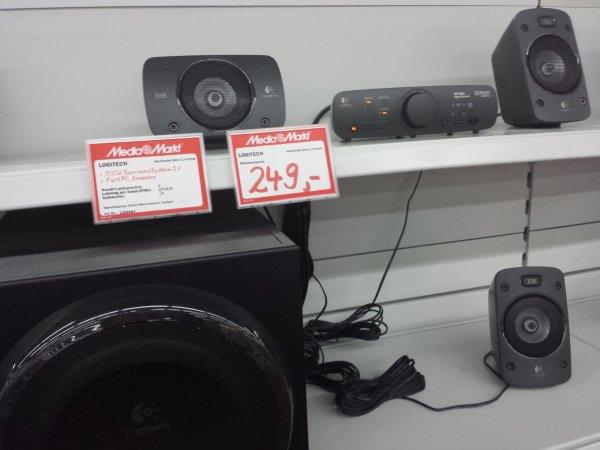 [MM Lokal Gießen] Logitech Z906 5.1 THX Soundanlage für 249 Euro