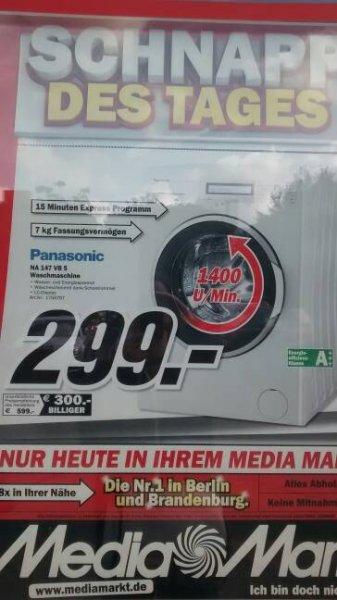 [Lokal Berlin?] Panasonic NA-147VB5 - 299€ statt 469€ Waschmaschine - Mediamarkt