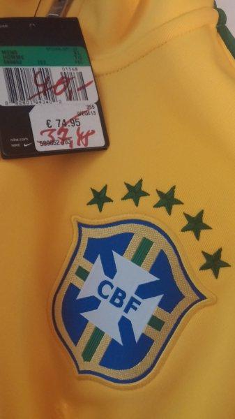 [Lokal Essen] Nike Brasilien N98 Trainigsjacke gelb und schwarz