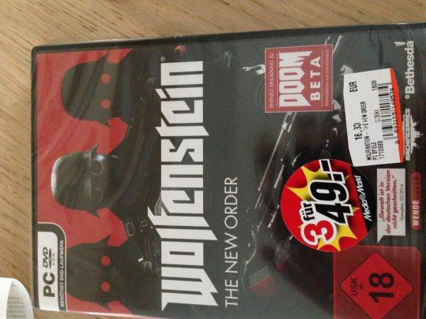 MM Bremen Waterfront -  3 für 49€ auch einzeln (PC und PS3 Spiele Z.B. Wolfenstein NewOrder)