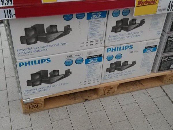 Philips HTB3560 3D-Blurayplayer 5.1 (99€) & Philips Sonicare (19,99€) [lokal Kaufland Berlin Weißensee]