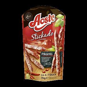 [Rewe] Aoste Stickado 70g versch. Sorten für 1,19€ bei Rewe-City (Angebot+Cashback)