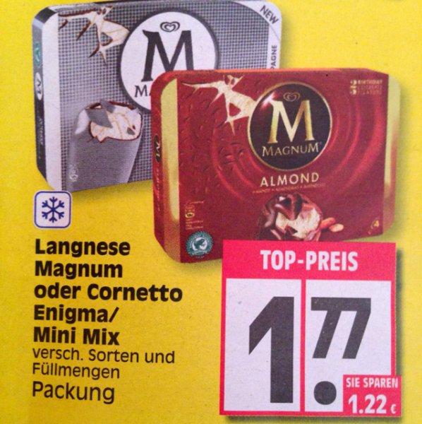Bundesweit EDEKA Magnum 4er 1,77€