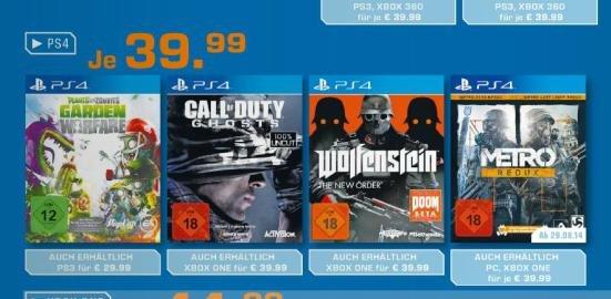 [SATURN] Wolfenstein - The New Order FSK 18 für NewGen