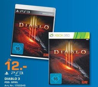 Diablo 3 für PS3/360 für 12€ im Saturn Düren