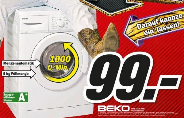 Beko WML 15106 MNE+ Waschmaschine / EEK:A+/5 kg [LOKAL - Castrop-Rauxel]