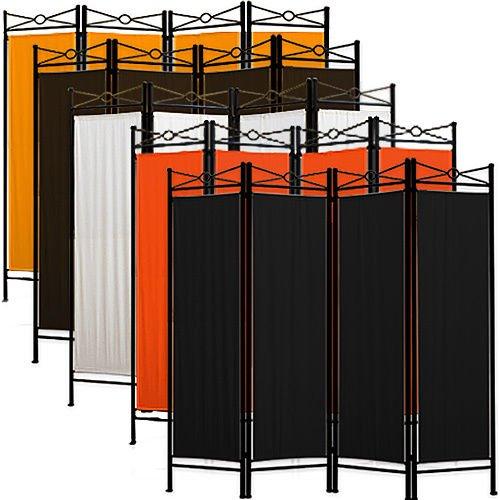 Ebay WoW: Raumteiler Trennwand Paravent 4-tlg. Sichtschutz Umkleide spanische Wand Metall