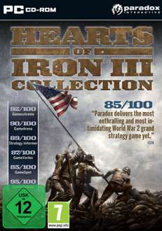 Hearts of Iron 3 Collection für 9,99€ Steam Key