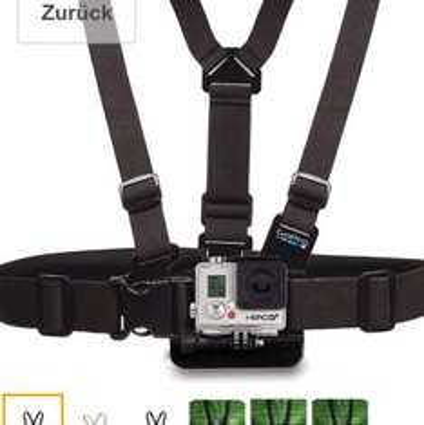[Amazon, inkl VSK] GoPro Zubehör Chesty (Brustgurt-Halterung)