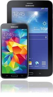 Samsung Galaxy S5 + Tab 3 7.0 Lite - für o2 Business (XL) Kunden