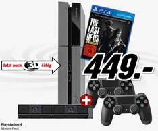 PS4 und Xbox One Bundle je 449 im Media Markt Shop