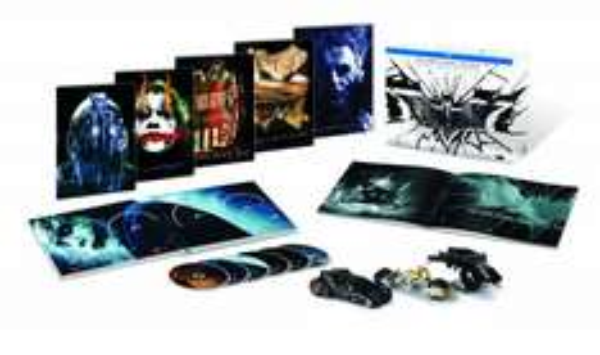 @thalia.de: Batman - The Dark Knight Trilogy [Blu-ray] [Limited Collector's Edition] für  25,99€