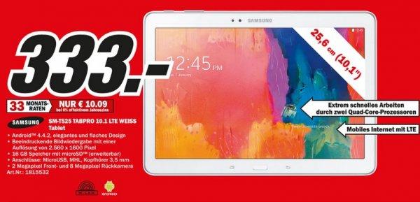 Samsung Galaxy Tab Pro 10.1 16GB LTE für 333€ Lokal @ Mediamarkt Berlin & Brandenburg