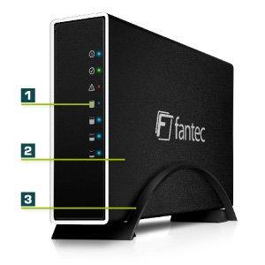 NBB Fantec NAS CL-35B1 ab 38€ 1TB / 2TB / 3TB mit 10/100/1000Base-T(X) Vorführware mit 24 Monate Gewährleistung