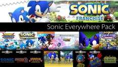 STEAM - Sonic Everywhere Pack 17x Sonic für 9,31€ @ Amazon.com