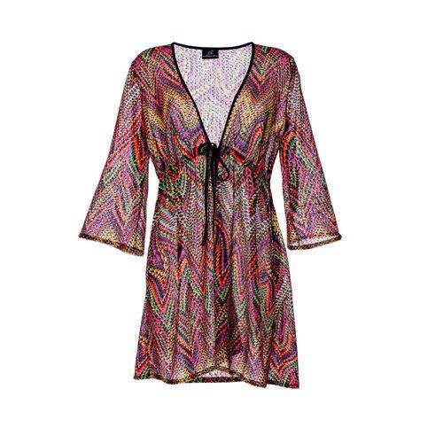 Emilia-Lay-Damen-Mode-Jacke-Tunika-Damenjacke-Oberteil-3-4-Arm-Neu-Grosse-Groessen
