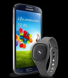 Samsung Galaxy S4 Value Edition (I9515) Schwarz oder Weiß + Samsung Activity Tracker