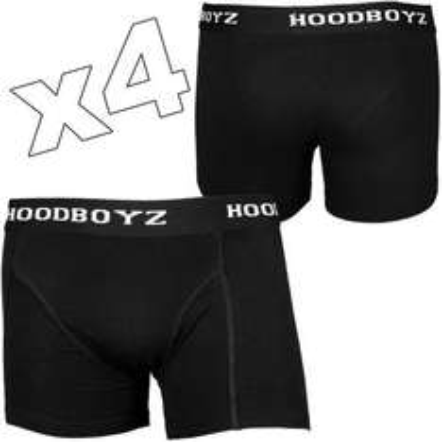4er Pack Herren Boxershorts Schwarz/Grau/Weiß/Dunkelblau oder Mehrfarbig für 6,35€ (1,60€ pro Short) @ Hoodboyz