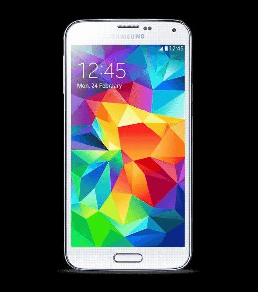 Samsung Galaxy S5 16GB 444 euro schwarz oder weiß ohne branding [smartkauf]