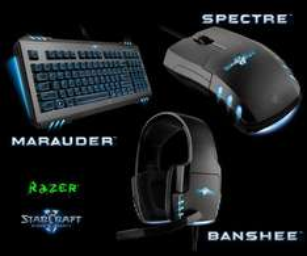 Razer Starcraft 2 Maurader: 54,59  € , Banshee 38,09 € , Spectre 27,95 €