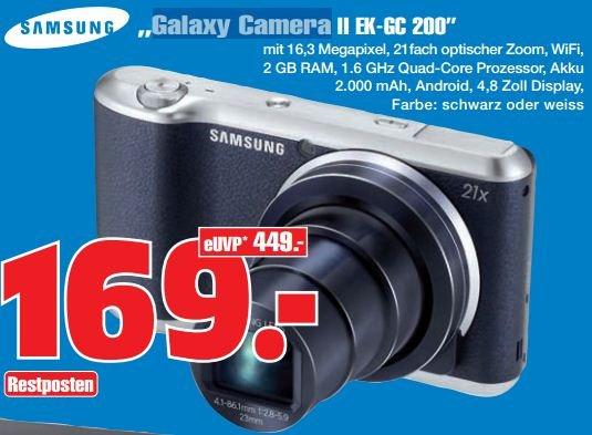 [lokal - GE] Galaxy Camera II EK-GC 200 - 169€ statt ~244€