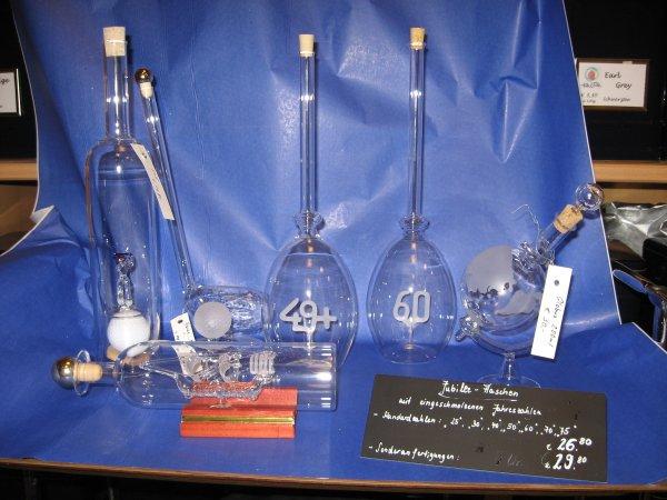 LOKAL BERLIN Mundgeblasene Glasflaschen 20% Rabatt auf den Originalpreis
