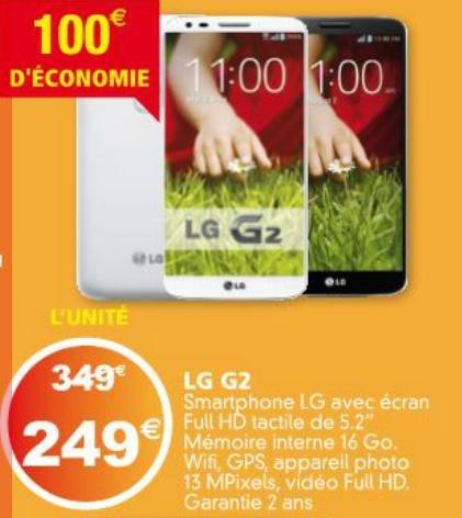 LG G2 16 GB NEU nur 249€ (Idealo 299€) + Weitere Angebote LOKAL @ Auchan - Luxemburg