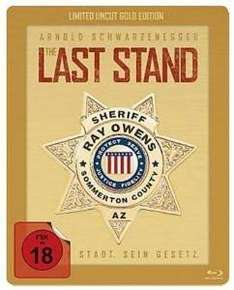 [Mediamarkt] The Last Stand (Bluy-Ray/Limited Gold Edition Steelbook) für 8,90 € & Kurzer Prozess - Righteous Kill (DVD/Steelbook) für 0,00 €