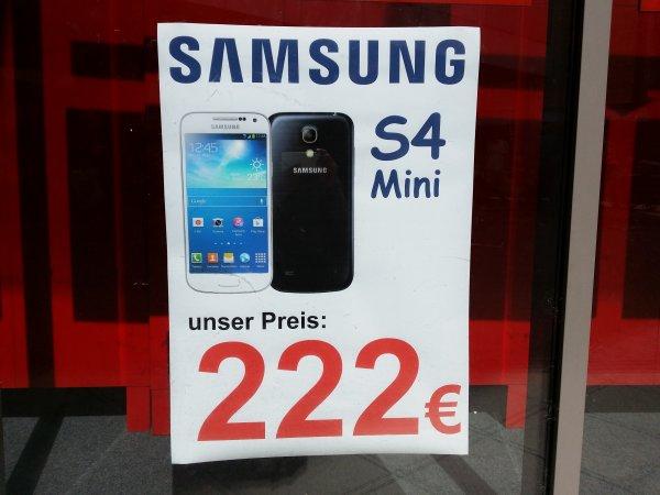 [lokal Sulzbach]Samsung Galaxy S4 Mini im MTZ für 222 Euro