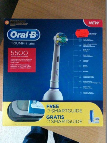 Braun Oral-B Triumph 5500 @Real-Neumünster 50€