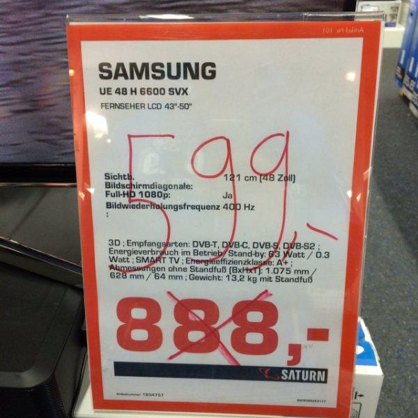 """[LOKAL] 48"""" Samsung 3D LED@Saturn Soest"""