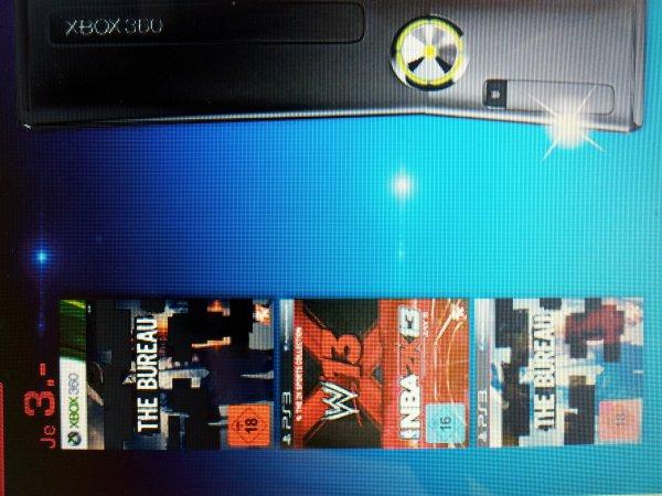 PS 3 & XBox THE BUREAU und W13+NBA2K13 für je 3,00 Euro bei Saturn Erlangen
