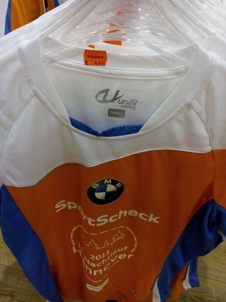 [Lokal] Damen Laufshirt Nachtlauf 2013 @SportScheck Hannover für 4,95€
