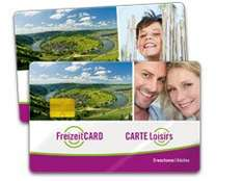10% auf FreizeitCard mit über 200 Attraktionen in Rheinland-Pfalz, Saarland, Lux, Beglien und Lothringen