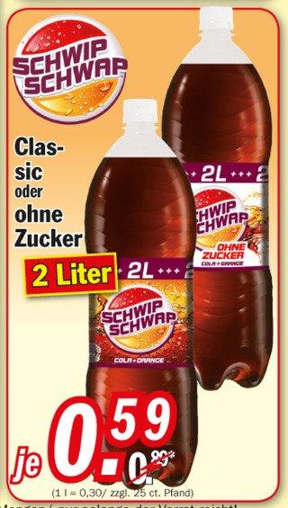 [Zimmermann] Pepsi/Pepsi Light oder SchwipSchwap/SchwapSchwap Light je 2l Flasche nur 0,59€!
