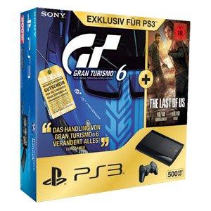 [REAL] Playstation 3 (500GB) + Last of us + GT6 für ab 259,99€ (mit Mitarbeiterrabattkarte ~235€)