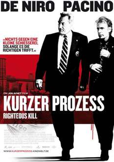 Kurzer Prozess - Righteous Kill (Steelbook) - Media Markt - 1,99€