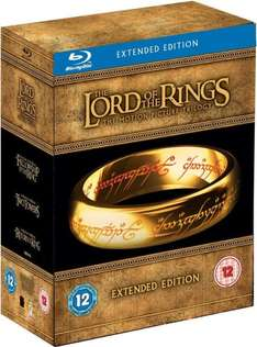 Lord of the Rings Trilogy: Extended Limited Edition Blu-ray 25.39€ [Englischer Ton]