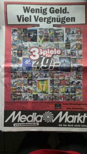 3 Spiele deiner Wahl für 49€