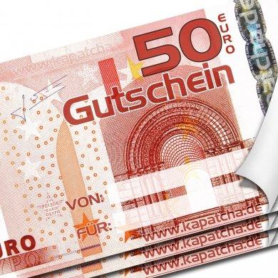 50€ Geschenkgutschein bei Kapatcha für 25€