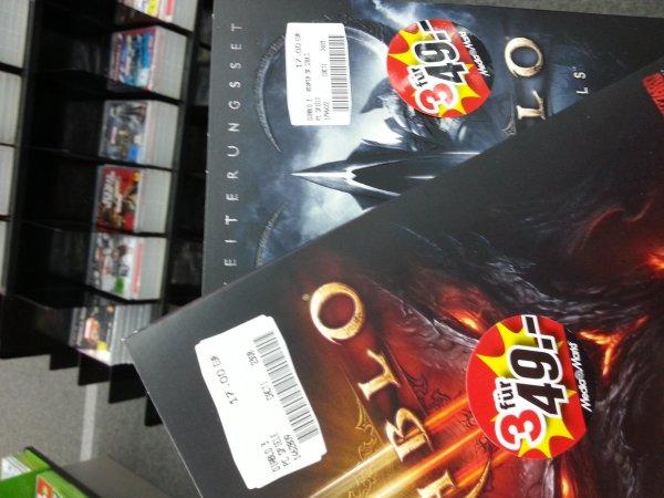 PC Diablo 3  -------oder------  PC Diablo 3 Reaper of Souls 17€ lokal Frankfurt