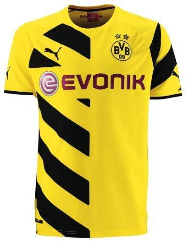Borussia Dortmund Herren Trikot mit Beflockung - BVB
