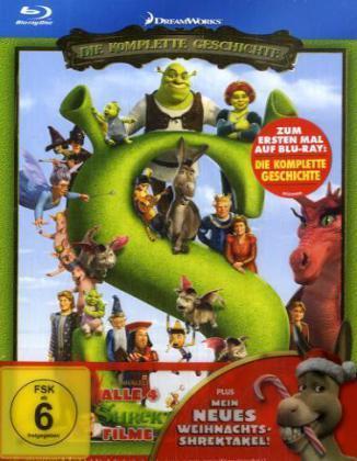 Shrekologie Blu-ray für 31,95€ @ buch.de
