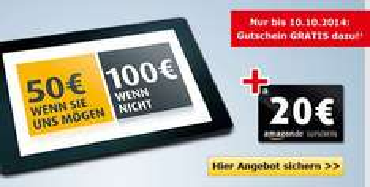 .comdirect kostenloses Girokonto mit 50.- Guthaben + 20-Euro-Amazon-Gutschein