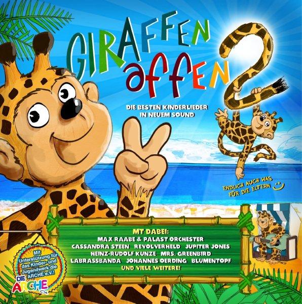 [Amazon.de] Giraffenaffen 2 CD inkl. Sticker, Poster & Leseprobe für 6,66 Euro für Prime Mitglieder