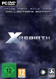 (ebay 3 Stück) X-Rebirth Collectors Edition (SpaceSim Nerds only!)